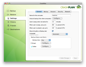 Connecting to headless CrashPlan engine via OSX GUI
